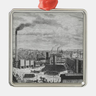 Deutsch Company, the factory at Rouen Christmas Ornament
