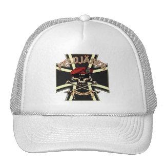 Deutsch Feldjager mit Kruez Hut Cap