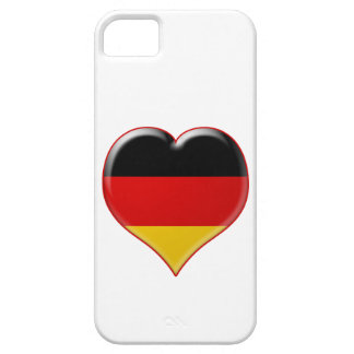 Deutsch-Herz-Charme iPhone 5 Covers