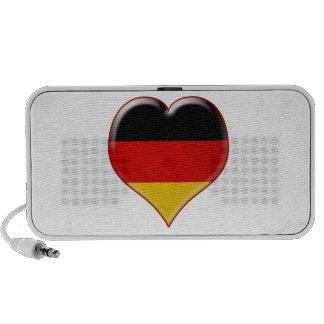 Deutsch-Herz-Charme Travel Speakers