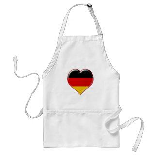Deutsch-Herz-Charme Standard Apron