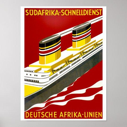 Deutsche Afrika Poster