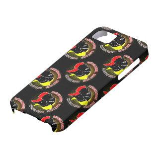 Deutsche Doggen Schwarz Rot Gold iPhone 5 Cover