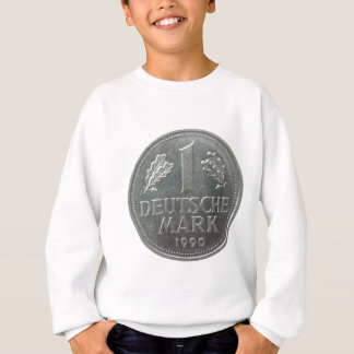 Deutsche Mark coin Sweatshirt