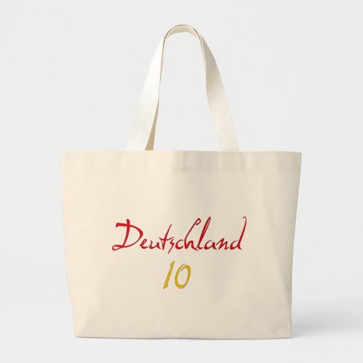 Deutschland 10! tote bag
