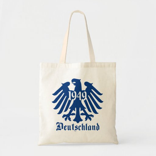 Deutschland 1949 German Eagle Emblem Canvas Bag
