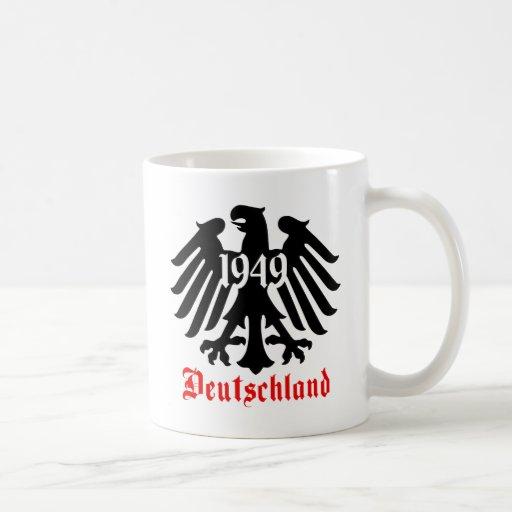 Deutschland 1949 German Eagle Emblem Coffee Mug