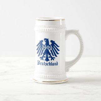 Deutschland 1949 German Eagle Emblem Beer Steins