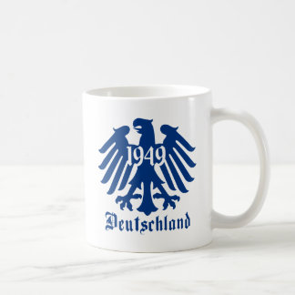 Deutschland 1949 German Eagle Emblem Classic White Coffee Mug
