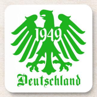 Deutschland 1949 Germany Eagle Symbol Coasters