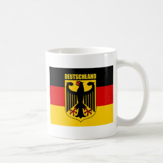 Deutschland 2 classic white coffee mug