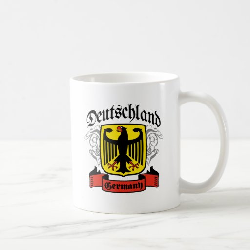 Deutschland Basic White Mug