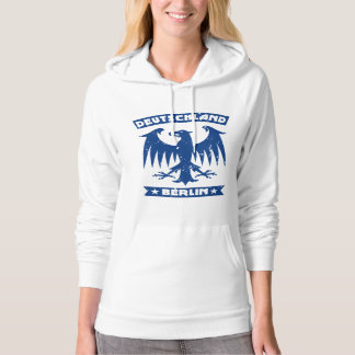 Deutschland Berlin German Eagle Emblem Hoodie