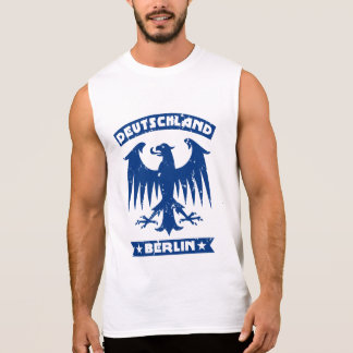 Deutschland Berlin German Eagle Emblem Sleeveless Shirt