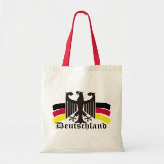 deutschland budget tote bag