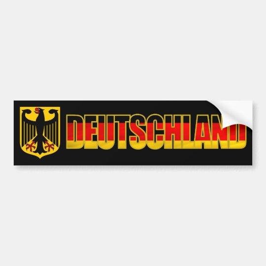 Deutschland Bumper Bumper Sticker