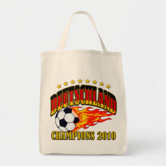 Deutschland Champions Grocery Tote Bag