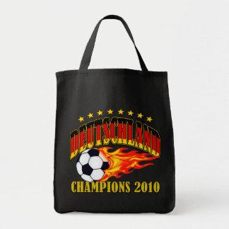 Deutschland Champions Grocery Tote Bag