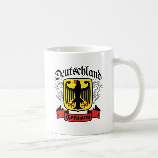 Deutschland Classic White Coffee Mug