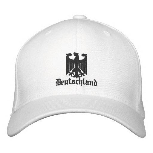 "Deutschland ""Coat of Arms"" Embroidered Cap Baseball Cap"