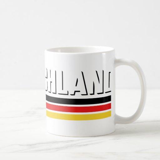Deutschland design! coffee mug