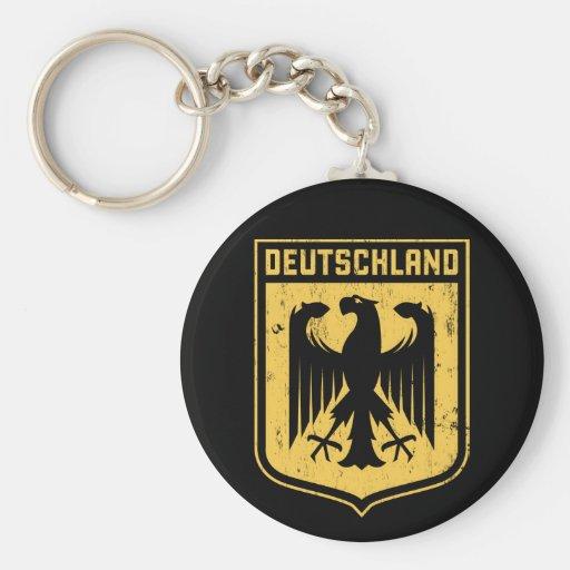 Deutschland Eagle -  German Coat of Arms Key Chain