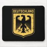 Deutschland Eagle -  German Coat of Arms Mouse Pads