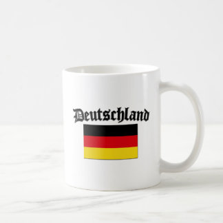Deutschland Flag 1 Basic White Mug