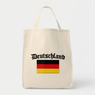 Deutschland Flag 1 Grocery Tote Bag