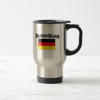 Deutschland Flag 1 Stainless Steel Travel Mug
