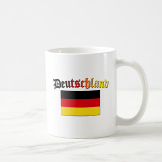 Deutschland Flag 2 Basic White Mug