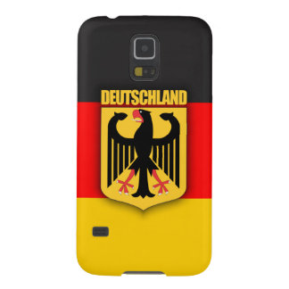 Deutschland Flag and Coat of Arms Cases For Galaxy S5