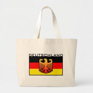 Deutschland Flag Tote Bags