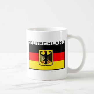 Deutschland Flag Basic White Mug