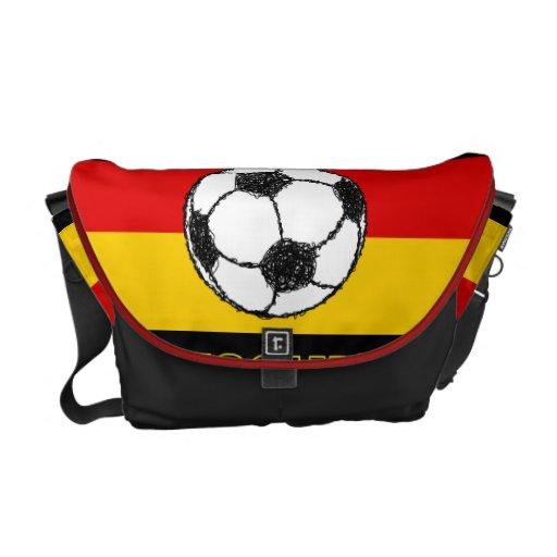 DEUTSCHLAND FLAG | FOOTBALL MESSENGER BAG