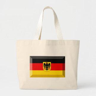 Deutschland Flag Gem Canvas Bag