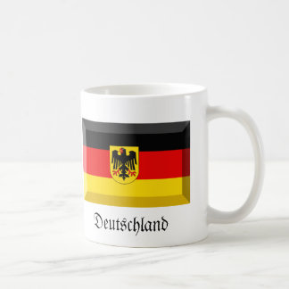Deutschland Flag Gem Coffee Mug