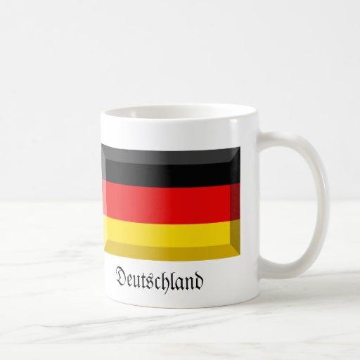 Deutschland Flag Gem Mug