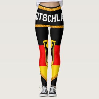 Deutschland Flag Leggings