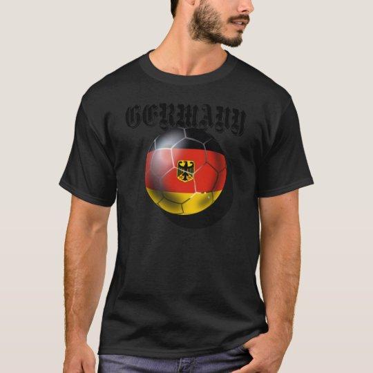 Deutschland flagge Fußball spieler gifts T-Shirt