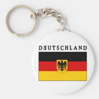 Deutschland Flagge Key Chains