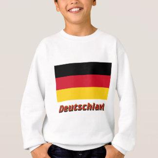 Deutschland Flagge mit Namen T Shirts
