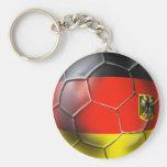 Deutschland Fußball 2010 soccer ball gifts Basic Round Button Key Ring