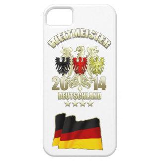 Deutschland Fussball Adler Flagge 2014 Weltmeister iPhone 5/5S Cover