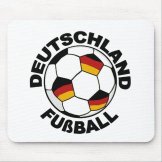 Deutschland Fußball design Mouse Pad