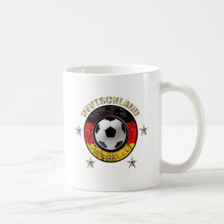 Deutschland Fussball Flagge Vier Sterne Coffee Mugs