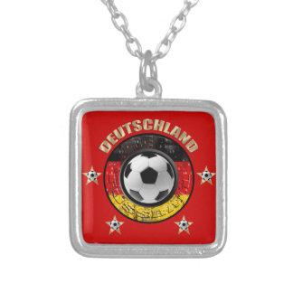 Deutschland Fussball Flagge Vier Sterne Necklace