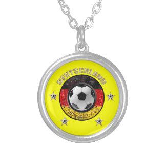 Deutschland Fussball Flagge Vier Sterne Jewelry