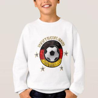 Deutschland Fussball Flagge Vier Sterne Tee Shirt