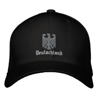 "Deutschland ""German Coat of Arms"" Embroidered Embroidered Baseball Cap"